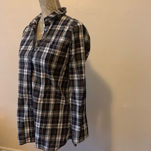 J Crew Button-Up Blouse Size 4T